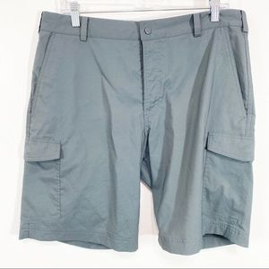 Mens Nike Golf Gray Dri Fit Cargo Shorts Size 34